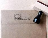 Custom Logo Stamp - Personalized Stamp - Custom Stamp Wedding - Teacher Stamp - Wood Mounted or Self-Inking Stamp