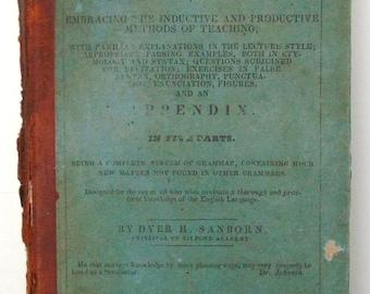 Analytical Grammar Of The English Language 1837