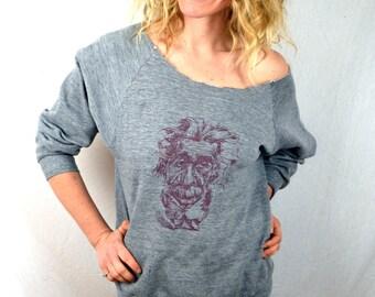 Vintage 1980s Cut off Einstein Sweatshirt