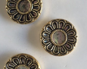 Vintage Metal Buttons - 5