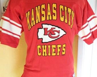 Kansas City Chiefs NFL 1994 vintage jersey shirt - red size medium