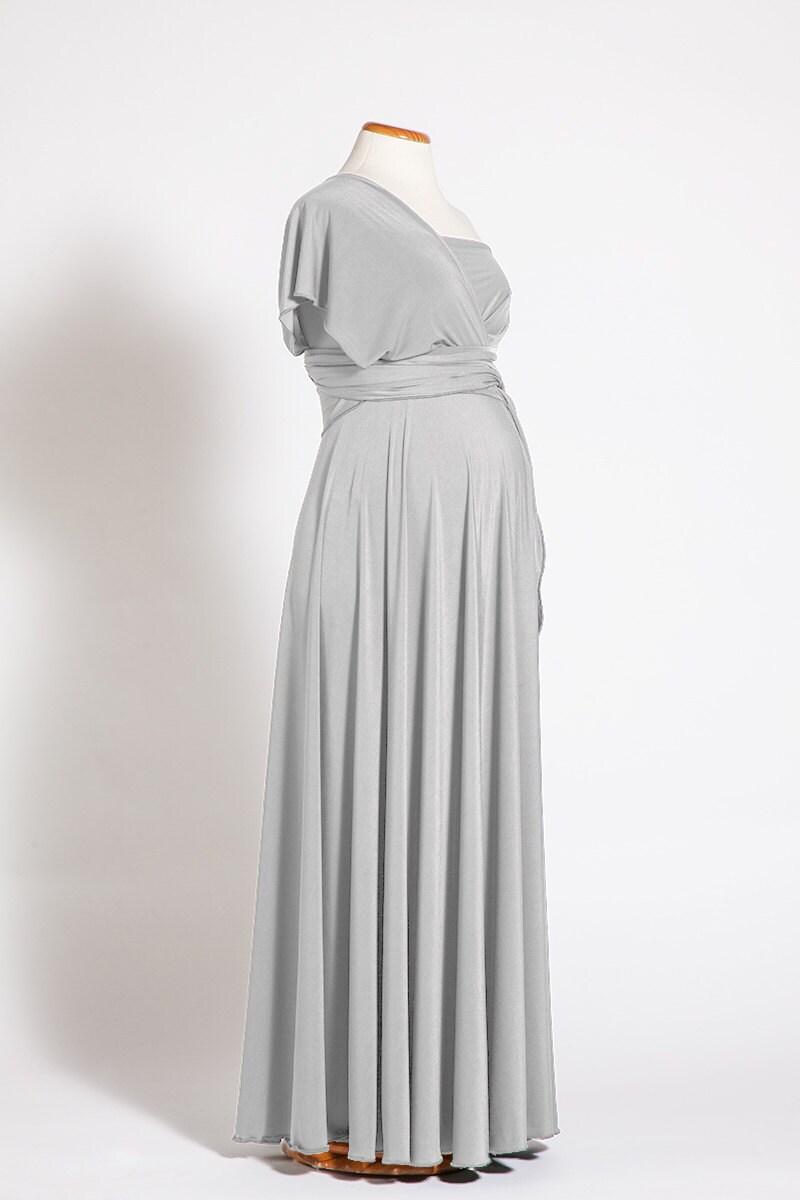 Pearl gray maternity dress long infinity maternity dress details pearl gray maternity dress ombrellifo Gallery