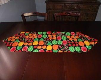 Summer Fruit Table Runner