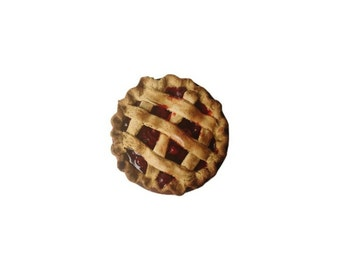 Primitive Cherry Pie Decor Scented Farmhouse Fake Food