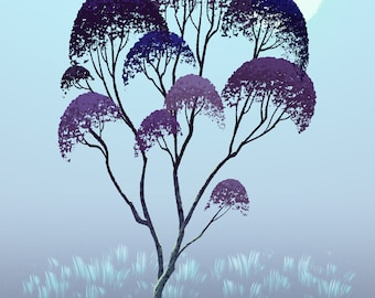 Tree Series: Eucalyptus - Limited Edition Print