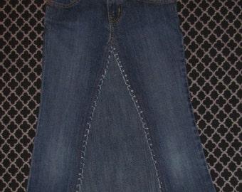 Girls Jean skirt -10