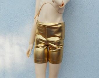 BJD gold look surface shorts sd, msd, yosd various sizes