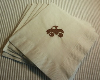 Pick Up Truck Paper Napkins - Cocktail/Luncheon/Dinner Size - Set of 24