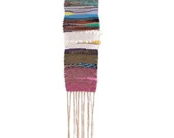 Vista Ridge // handwoven wall hanging weaving