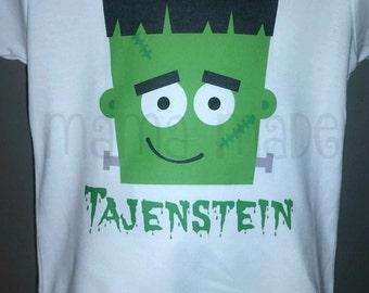 Frankenstein halloween shirt, Frankenstein shirt,Boys halloween Shirt, boys frankenstein shirt, boys monster shirt, halloween monster shirt