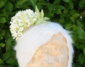 Dandelion Puff Fascinator