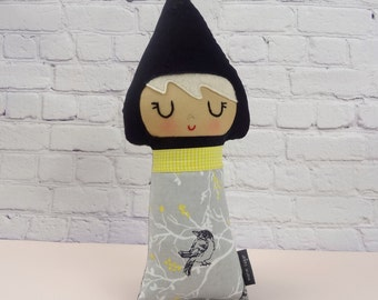 Lauren Gnome Baby // New Baby Gift // Nursery Decor // Warm Sugar Doll // Gnome Girl