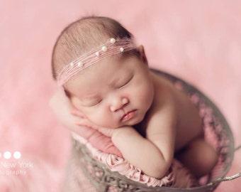 Newborn photo prop, newborn girl, newborn headband, newborn props, newborn girl prop,newborn headband set, newborn girl headband, baby girl