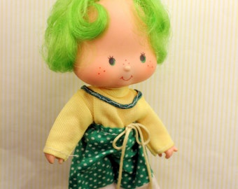 Vintage Strawberry Shortcake Doll Lime Chiffon 1979 Second Edition Sunny Garden Pants American Greetings