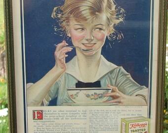 1915 Kellogg's Corn Flake Advertisement