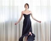 1940s Evening Gown - Vintage 40s Dress - Oh La La Dress