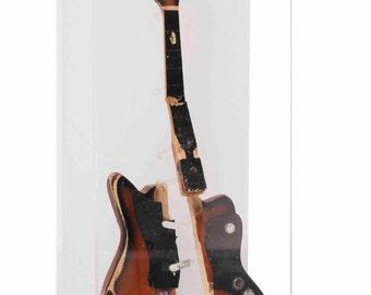 Kurt Cobain Miniature Guitar Sculpture