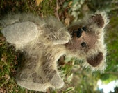 Miniature Mohair Teddy Bear -  OOAK Handmade: Pico
