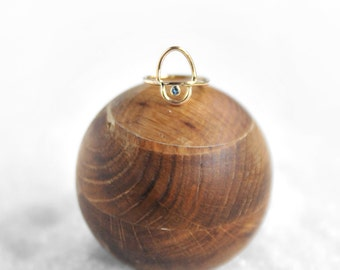 ARISE Gold +Topaz Ring