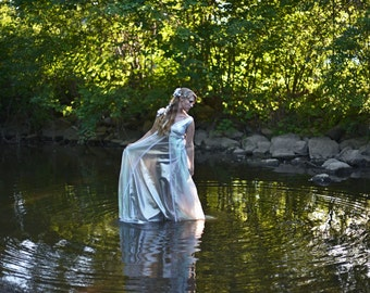 Water Goddess Ethereal Wedding Dress