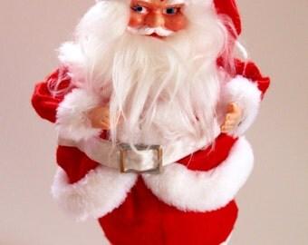 Vintage 1960's Santa Claus Plush Doll!