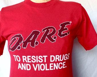 80's D.A.R.E. Tee Shirt