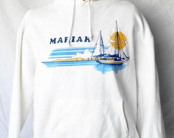 80's 'Mariah' Sailboat Sweatshirt