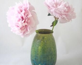 Vase - Nickel Crystalline
