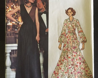 Vintage Pucci Pattern * Vogue Couturier Design 2959 * 1970s Vogue Dress Pattern * size 10 * uncut FF