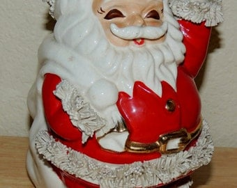 1950s SANTA with Spaghetti BANK made in Japan