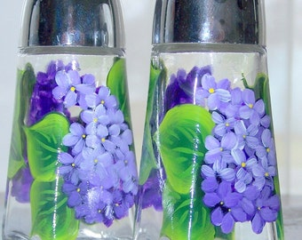 Lilac Salt and Pepper Set