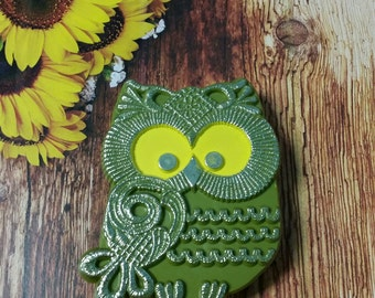Avocado Owl Tape Dispenser