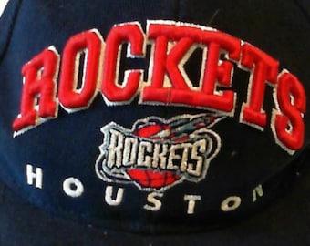 Snapback Houston Rockets Felt Cap Hat