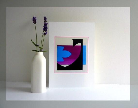 Contemporary art print minimal art minimal wall art modern for Minimal art wall