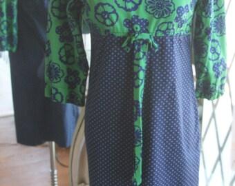 Vintage 1960s Judy Bee Empire Waist Dress