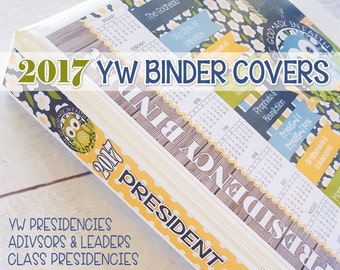 2017 YW Binder Covers, 2017 YW Theme Printables, James 1:5-6, Binders, LDS Young Women, 2017 Mutual Theme - Printable Instant Download