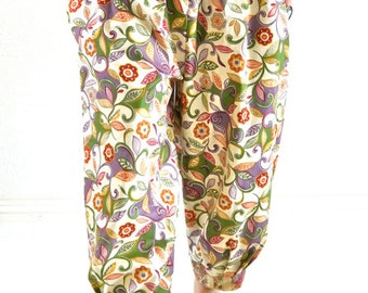 HAREM PANTS,Jeannie pants,YOGA pants, Gypsy pants, baggy pants, hiphop pants, hippie pants, Aladdin pants, Bohemian pants, Capri pants
