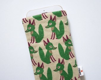 Foxes green Case iPhone SE 5s 6 6s 6s Plus iPod Classic HTC One A9 M9 LG G5 Samsung Galaxy S7 Edge Sony Xperia Z5 Compact Nexus 5X 6P Sleeve