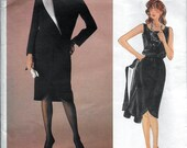 Vogue Designer Original 1233 Valentino Jacket Skirt & Top Sewing Pattern Size 12 Bust 34