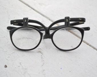 1950s Make-Up Glasses with Flip Down Lenses