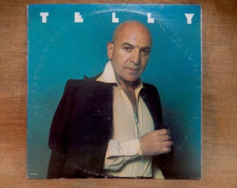 Telly Savannas - Telly - 1974 Vintage Vinyl Record Album