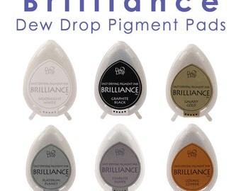Brilliance Pigment Dew Drop Ink Stamp Pads