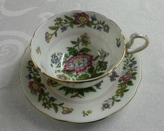 Aynsley Tea Cup and Saucer  circa 1930's-  209