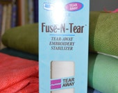 "Pellon Fuse-N-Tear Roll, 12"" x 12 yards #371R, Fusible Stabilizer"