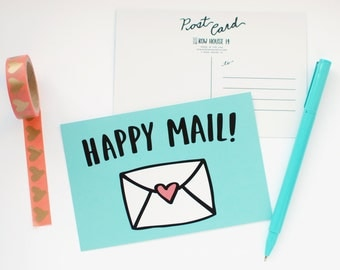 Postcard - Happy Mail Post Card Set