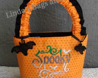 Little Girls Halloween Trick Or Treat Bag