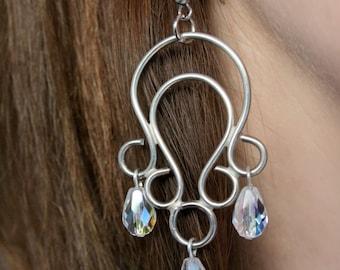 handmade elvish earrings