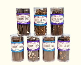 Chocolate Twigs, Chocolate Bark