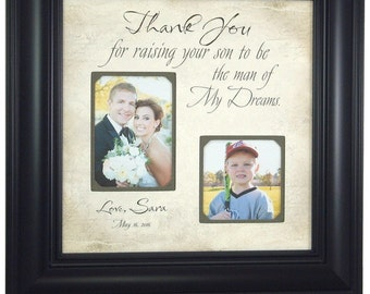 Mother of the Groom Gift, wedding gift for grooms parents,  16x16