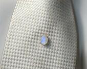Rainbow Moonstone Tie Tack